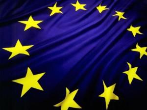eu flag flamur be bashkimi europian