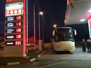 pike karburanti autobus